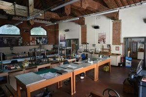 Il nuovo laboratorio di restauro