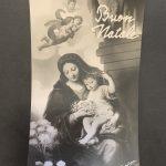 Torino, Bromostampa 1936 (da Pierre Mignard, Madonna dell'uva, Parigi, Louvre: un mazzo di fiori prende qui il posto dell'uva dell'originale)
