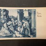 s.l., Fotoseta 1925 (da Lorenzo di Credi, Adorazione del Bambino, Firenze, Galleria dell'Accademia)
