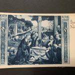 s.l., Fotoseta 1925 (da Domenico Ghirlandaio, Adorazione dei pastori, Firenze, Basilica di Santa Trinita, Cappella Sassetti)