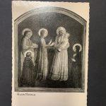 s.l, Fotoseta 1925 (da Beato Angelico, Presentazione di Gesù al Tempio, Firenze, Convento di San Marco)